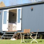 shepherd's hut accommodation