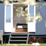 Shepherd's hut accommodation Northamptonshire
